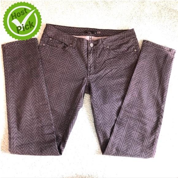 🎉HP🎉 Prana Jeans, Gray Zigzag